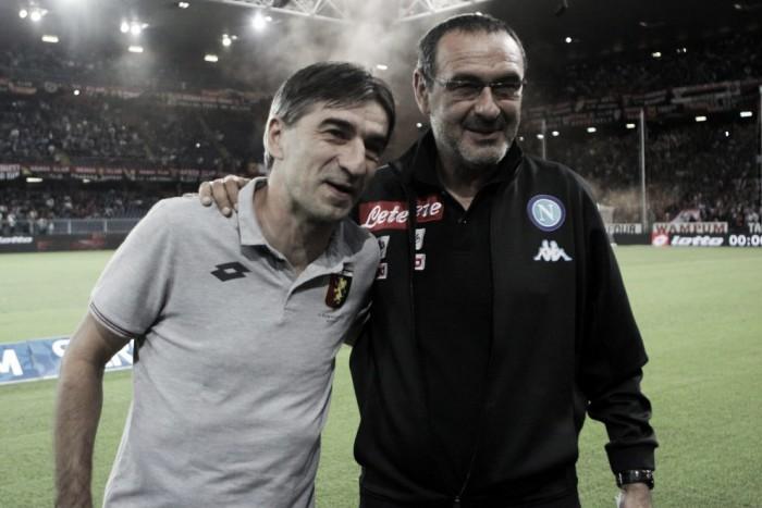 Il Napoli perde il primato, 0-0 a Marassi contro il Genoa: le voci dei protagonisti