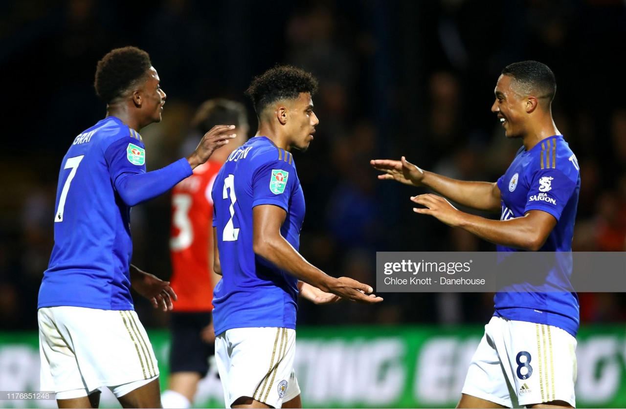Luton Town 0-4 Leicester City: Justin scores on Kenilworth Road return as Foxes swagger into Round Four