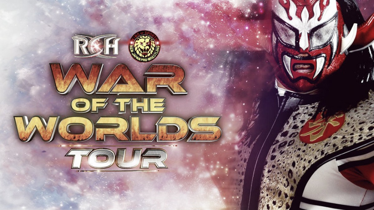 "Justin ""Thunder"" Liger vuelve a Ring Of Honor para la gira americana War of the Worlds"
