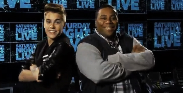 Justin Bieber on Saturday Night Live
