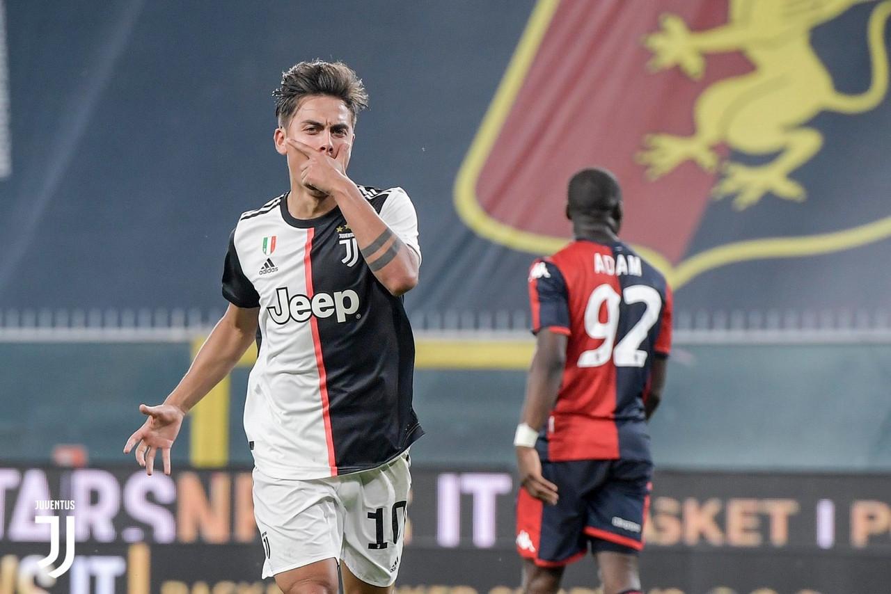 Serie A - Tris di perle a Marassi: la Juve batte il Genoa e torna a +4 sulla Lazio