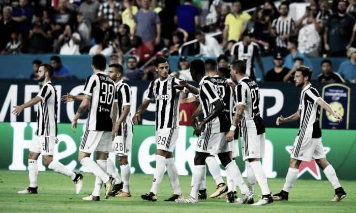 Juve, contro il Tottenham prove generali per la Supercoppa