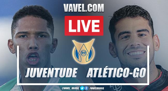 Gols e melhores momentos Juventude x Atlético-GO pelo Campeonato Brasileiro 2021 (1-1)