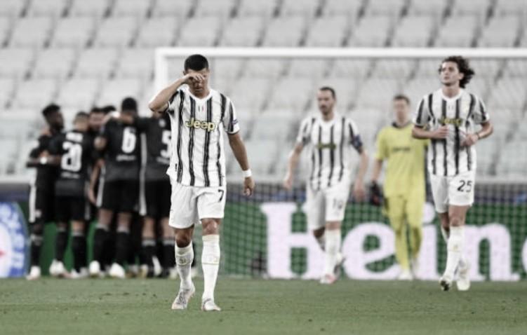 Cristiano Ronaldo marca dois, mas Juventus é eliminada pelo Lyon