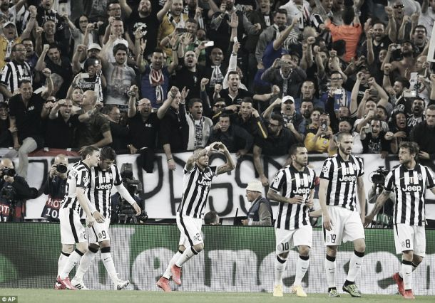 Juventus 1-0 Monaco: Vidal penalty gives Italians the edge after first-leg