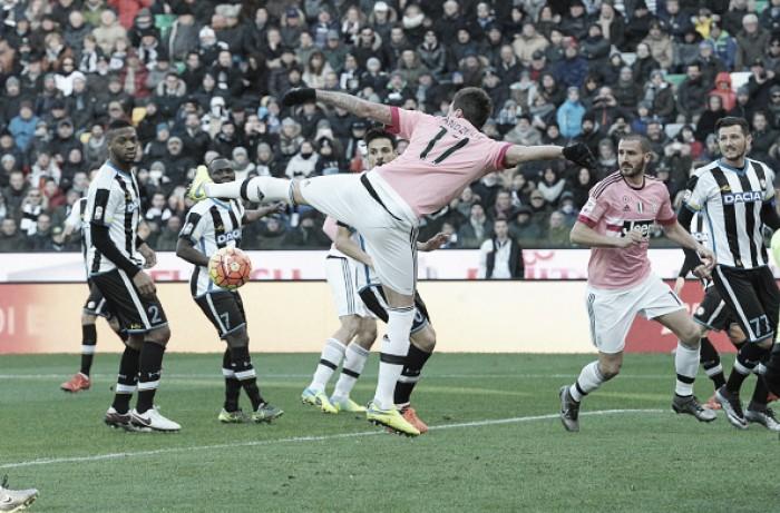 Embalada, Juventus recebe Udinese buscando mais um triunfo na Serie A