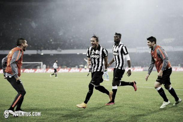 La Juve passa a Napoli e si prende la vetta: finisce 3-1 per i bianconeri al San Paolo
