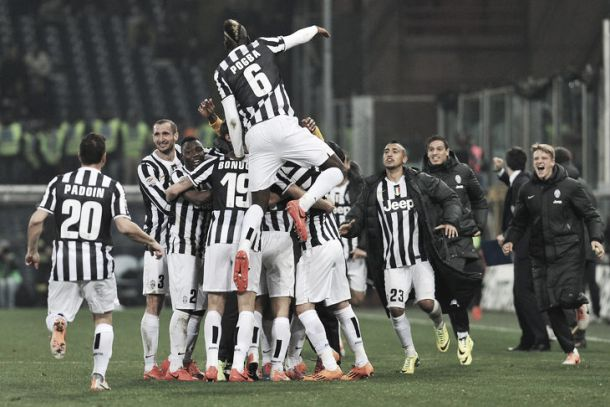 Juventus on the way to becoming a European force again