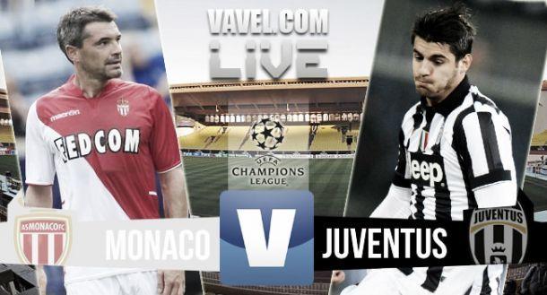 Live Monaco vs Juventus, diretta risultato partita Champions League (0-0)