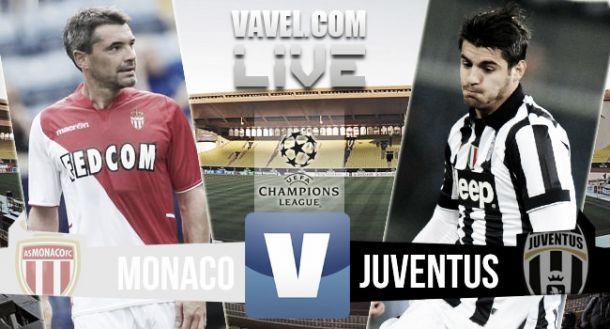 Resultado Mónaco vs Juventus en la Champions League 2015 (0-0)