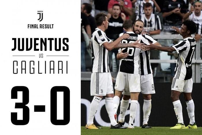 La Juventus démarre parfaitement