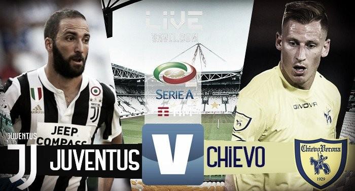Resultado Juventus x Chievo pela Serie A 2017/18 (3-0)