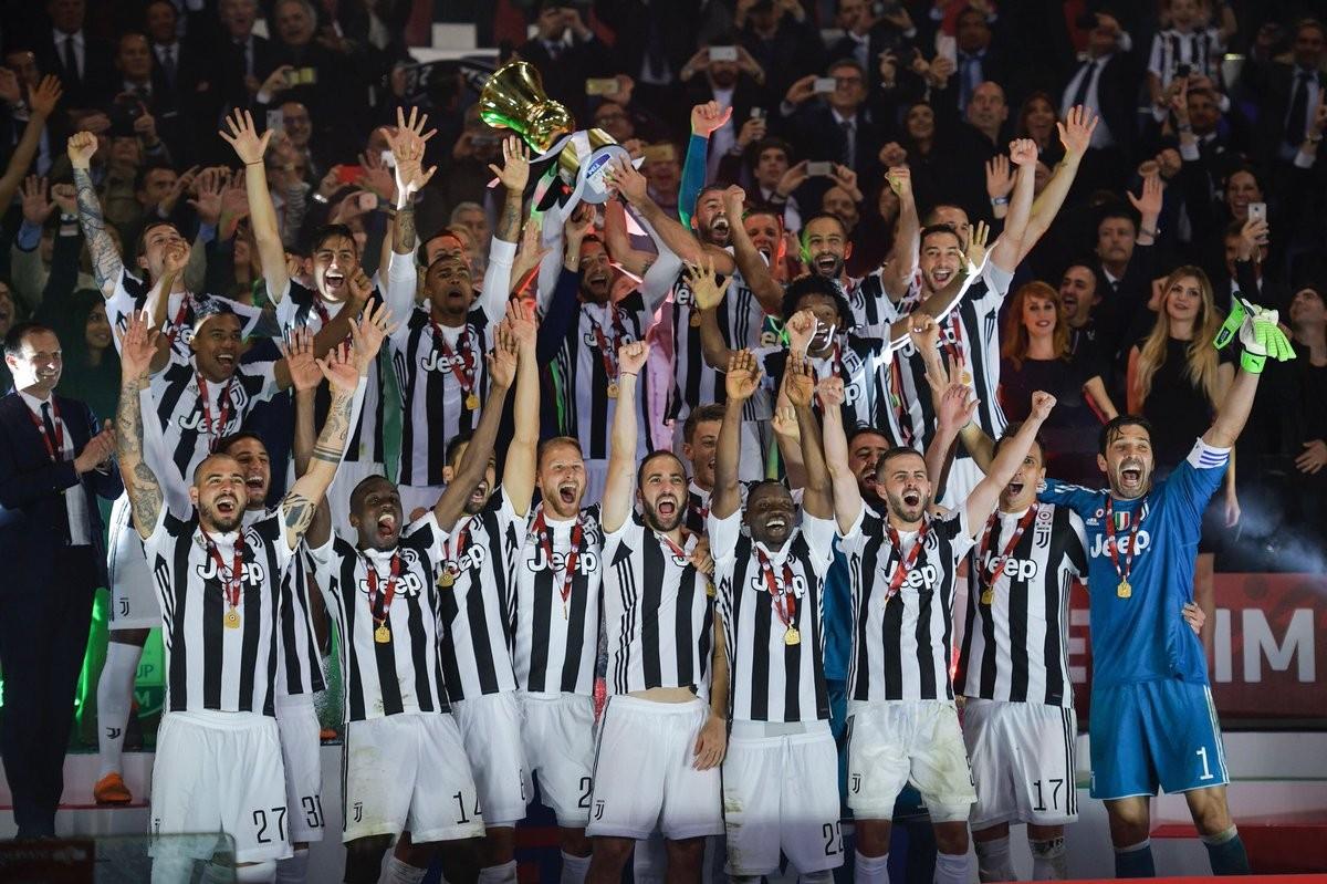 Juventus - Madama cala il poker d'assi e sbanca l'Olimpico