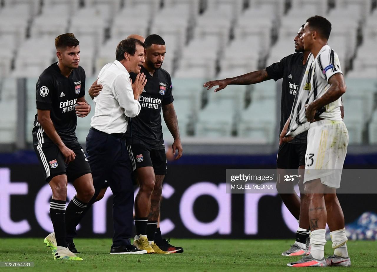 Juventus 2 (2)-(2) 1 Lyon: Lyon advance to UEFA Champions League Quarter Final