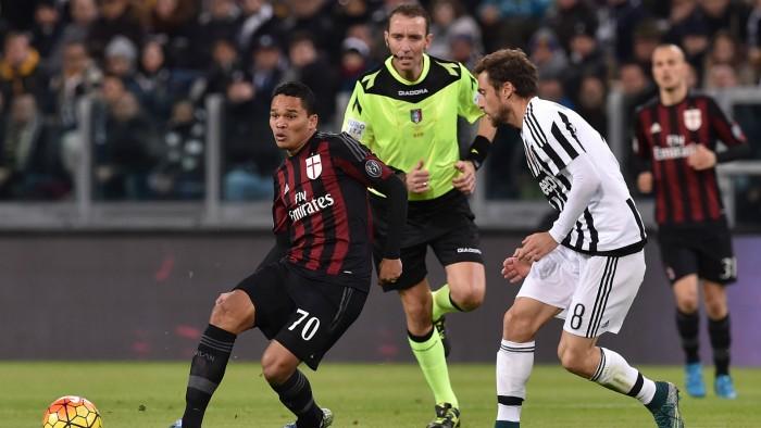 Diretta partita terminata Milan - Juventus 2016 Serie A (1-2): prima Alex, poi Mandzukic e Pogba