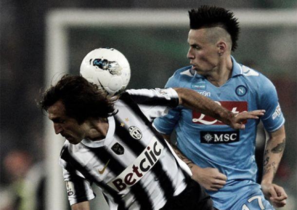 Resultado Juventus - Nápoles en la Serie A 2013 (3-0)