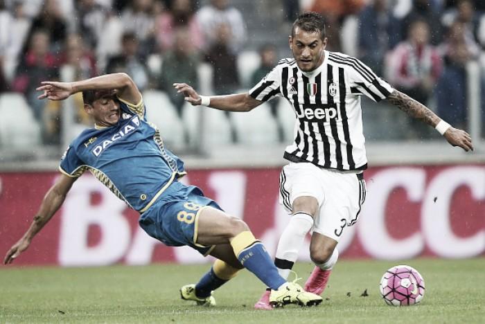 Resultado Udinese x Juventus no Campeonato Italiano 2015/2016 (0-4)