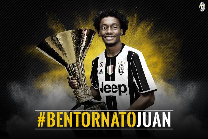 Ufficiale: Cuadrado è della Juventus