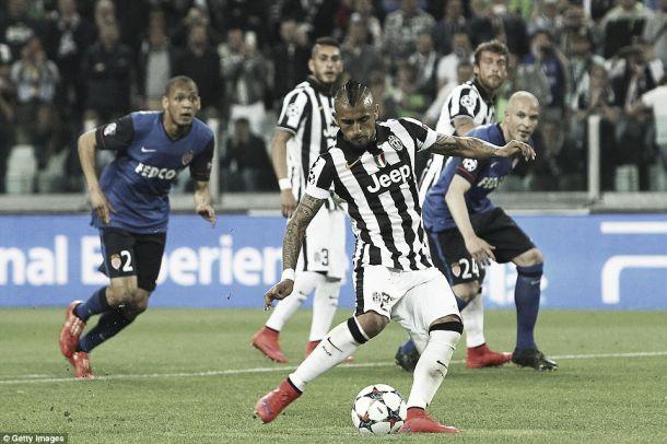 Liga dos Campeões: Juventus ganha num jogo em que Mónaco tentou supreender
