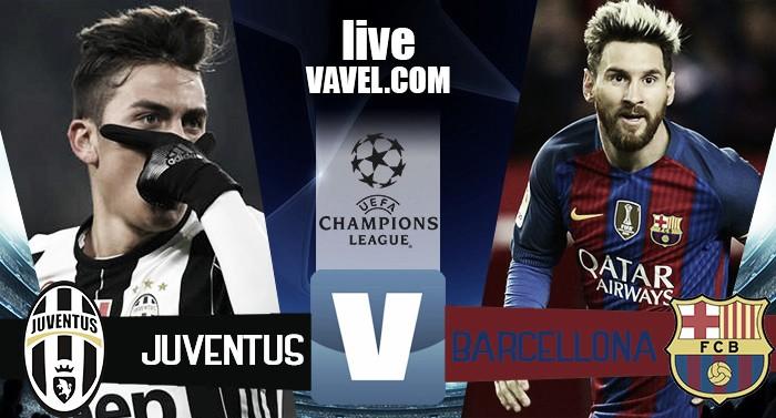 Juventus - Barcellona terminata in Champions League 2016/17 (3-0): Dybala-show