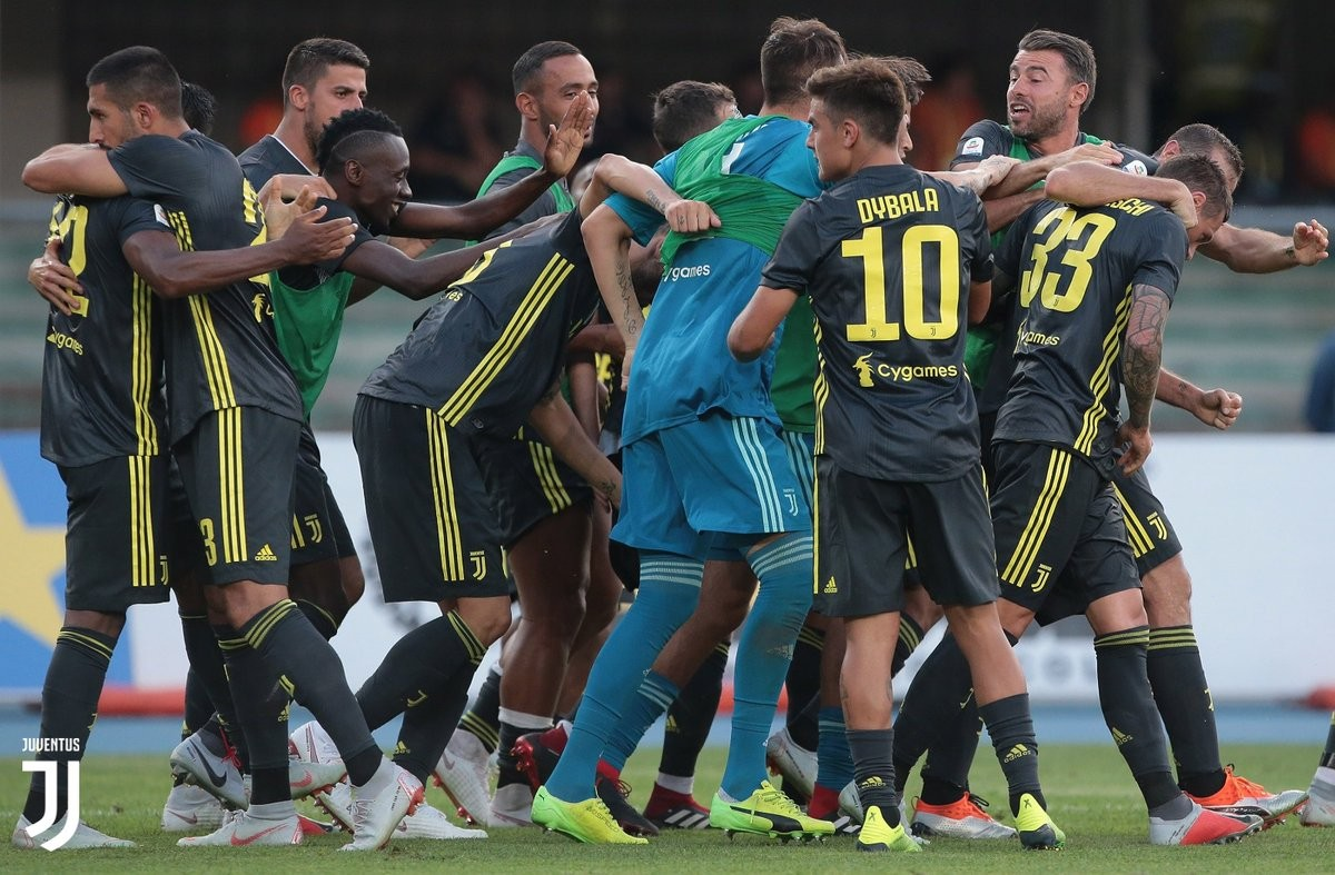 Juventus, testa già alla Lazio
