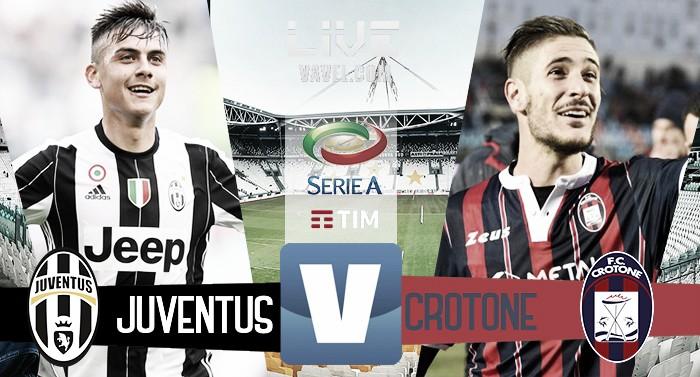 Terminata Juventus - Crotone in Serie A 2016/17 (3-0): Signora campione d'Italia!