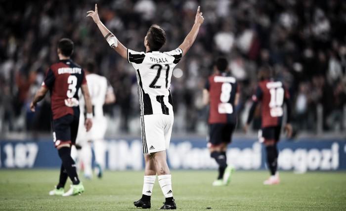 La Juve scherza il Genoa: 4-0. Scudetto lontano solo otto punti