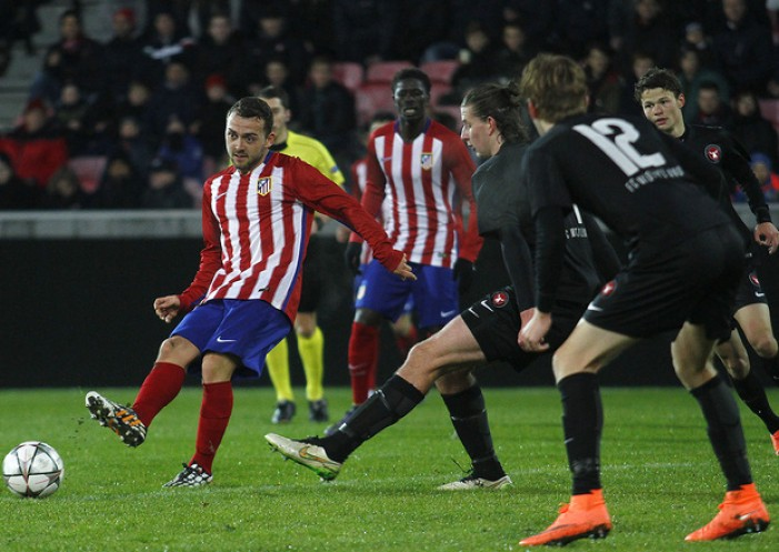 El Atlético cae en los penaltis de la Youth League
