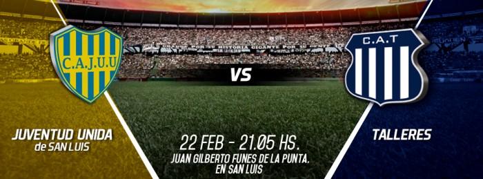 Juventud Unida 0-3 Talleres: baile cordobés en La Punta
