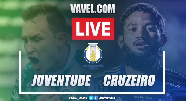Gol e melhores momentos de Juventude 1 x 0 Cruzeiro pela Série B
