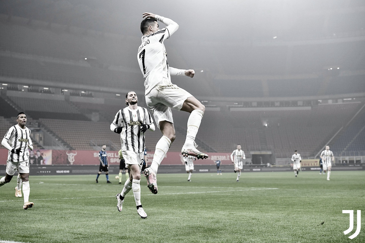 Cristiano Ronaldo decide, Juventus vira sobre Internazionale e abre vantagem na Coppa Italia