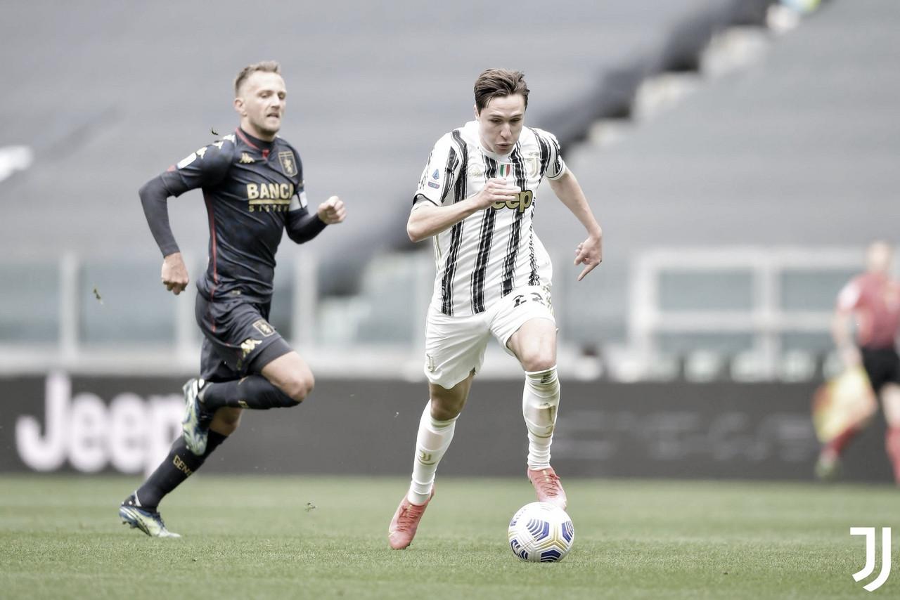 Juventus vence Genoa e segue sonhando na Serie A