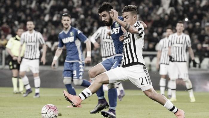 Juventus, Sassuolino nella scarpa
