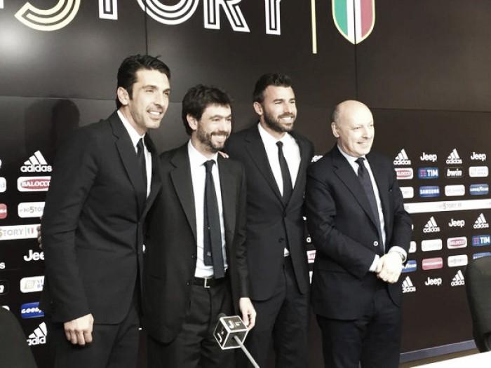 """Buffon e Barzagli rinnovano fino al 2018. Agnelli: """"La Champions è un sogno realizzabile"""""""