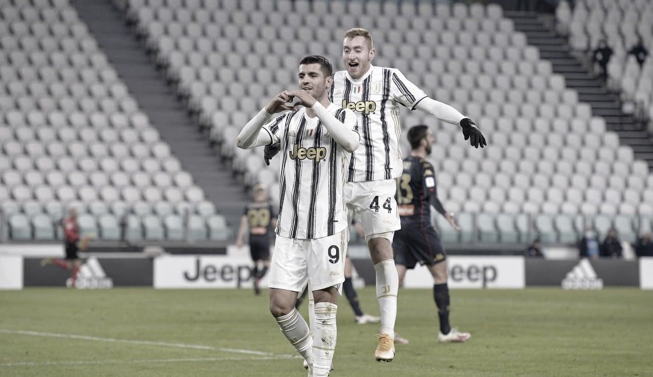 Com gol na prorrogação, Juventus elimina Genoa e está nas quartas de final da Coppa Italia