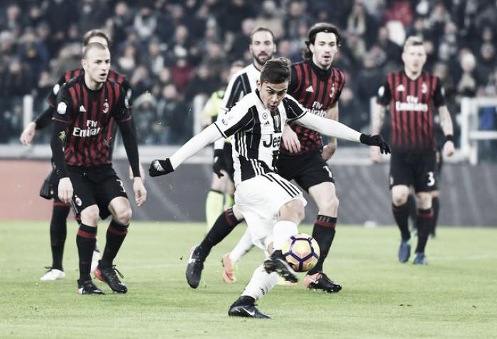Juve-Milan, le ultime: Allegri opta per il 3-4-3, Montella rinuncia a Suso