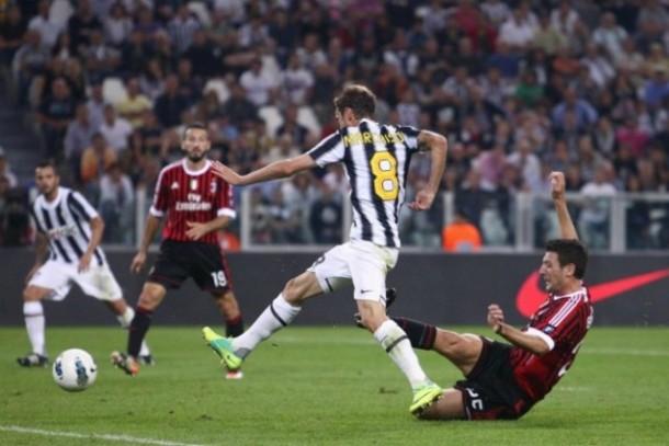 Juventus - Milan Story: il primo confronto allo Juventus Stadium