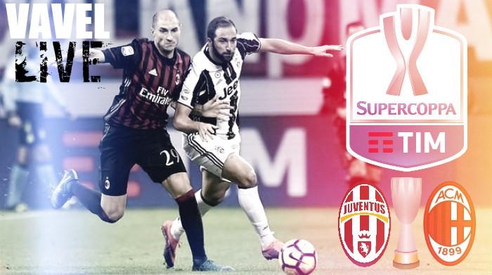 Juventus - Milan terminata in Supercoppa Italiana 2016 (4-3 d.c.r.): Ai rigori trionfo rossonero!
