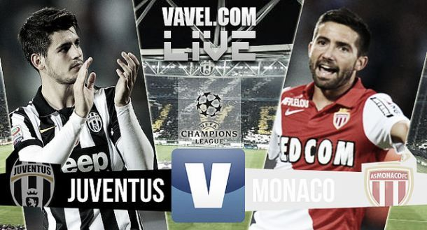 Juventus - AS Monaco en direct commenté (1-0) : suivez le match en live