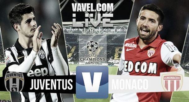 Juventus - AS Monaco en direct commenté (1-0) : suivez le match en live