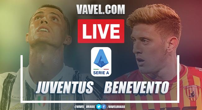 Gol e melhores momentos para Juventus 0x1 Benevento pela Série A
