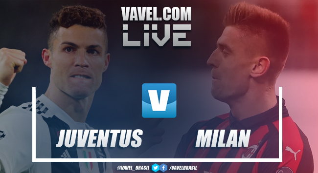 Resultado e gol Juventus x Milan pelo Campeonato Italiano (2-1)