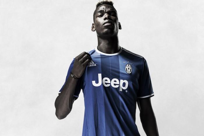 Com Pogba de modelo, Juventus divulga uniforme alternativo e tem a volta da cor azul