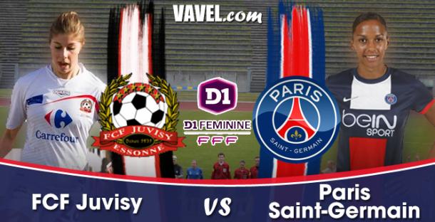 Live Coupe de France féminine : la demi-finale Juvisy - PSG en direct