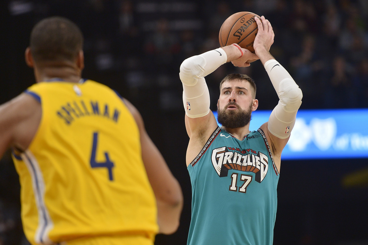 Jonas Valanciunas and the Grizzlies are flying under your radar