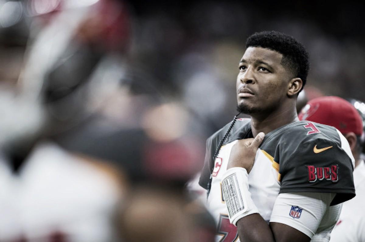 Jameis Winston facing a three-game suspension