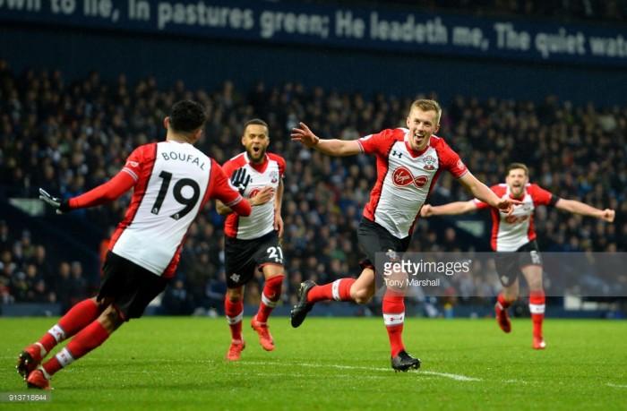 West Bromwich Albion 2-3 Southampton: Free scoring affair as Saints end winless run