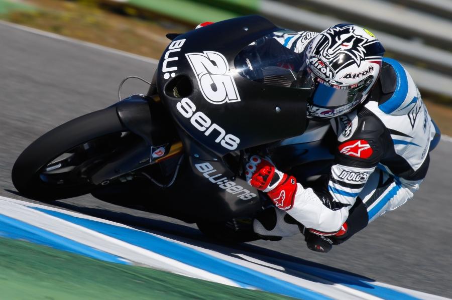 Danny Kent domina la segunda jornada de entrenamientos en Jerez