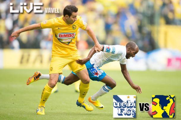 Resultado Puebla - América en Liga MX 2014 (0-1)