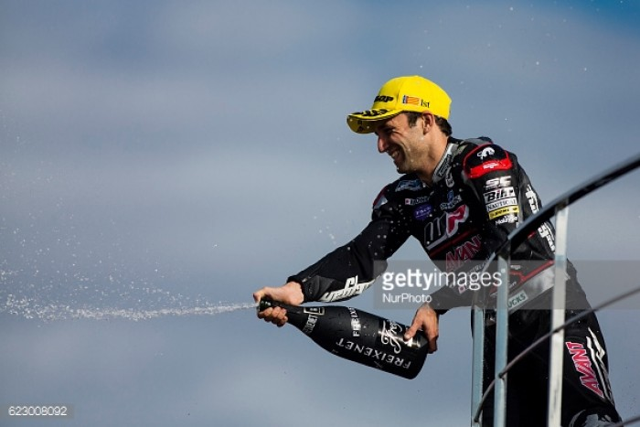 Zarco ends his Moto2 career with a win at the final round in Valencia